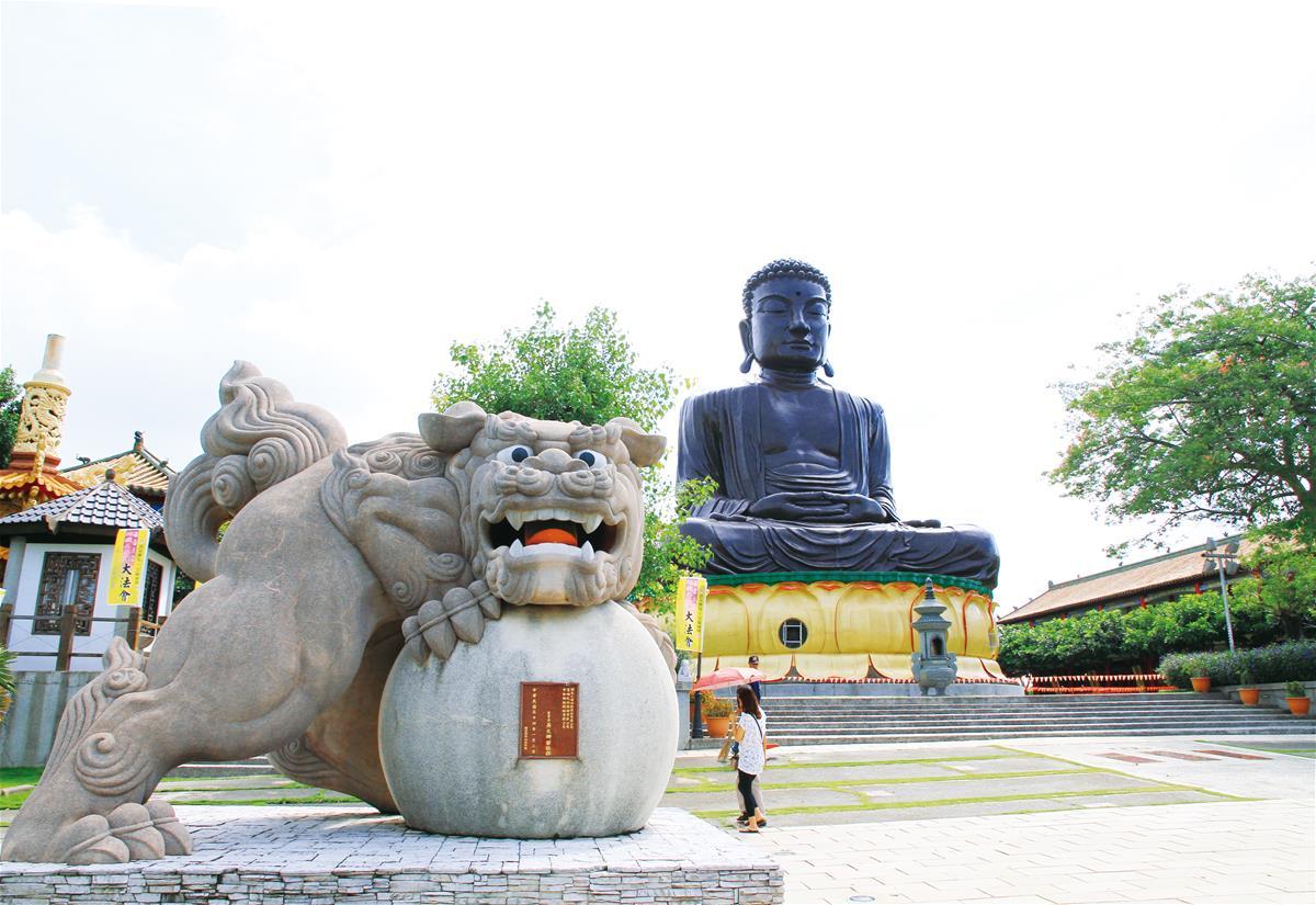 八卦山大佛風景區 ChangHua Mountain PaGua Buddha Sculpture