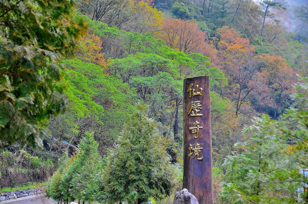 八仙山國家森林遊樂區,八仙山,森林遊樂區