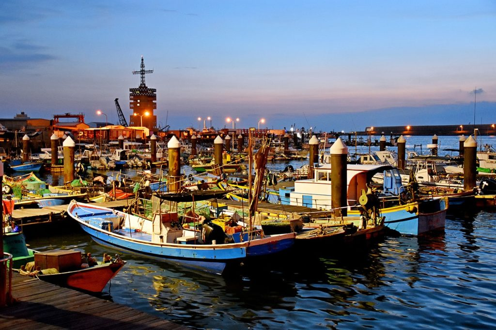 梧棲觀光漁港,碼頭,海鮮