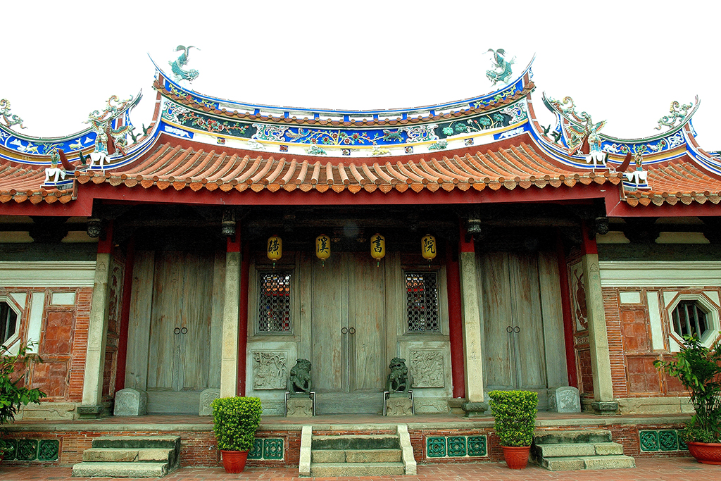 磺溪書院,古蹟寺廟,閩南式合院建築
